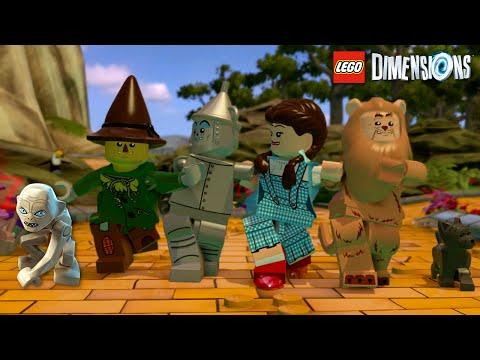 LEGO DIMENSIONS EP1 | GOLEM and the WIZARD OF OZ | RADIOJH GAMES