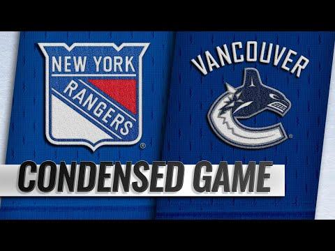 03/13/19 Condensed Game: Rangers @ Canucks