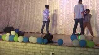 Mukkala Mukabula Dance by Vignesh and Sreehari [ FISAT Arangu 2014 ] 2010 - 2014 Batch.