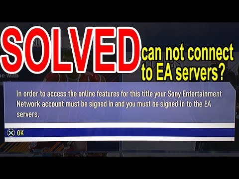 can't connect to EA server fifa18 error CE-32883-4? fixed
