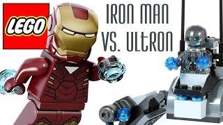 Lego 76029: Iron Man vs. Ultron / Железный человек против Альтрона