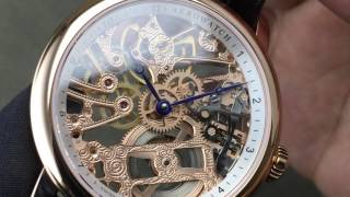 愛羅錶 A50931 RO01 機械鏤空錶