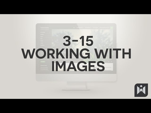 WordPress for Beginners 2015 Tutorial Series | Chapter 3-15: Working with Images