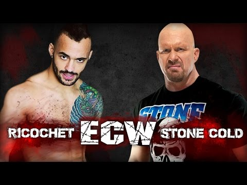 WWE 2k16 UNIVERSE MODE #018 ツ WWE VS  ROH 2016 ツ STONE COLD VS  RICOCHET