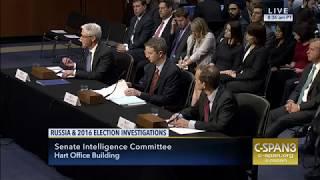 Senator Lankford Questions Social Media Executives at Intelligence Hearing