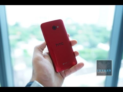 HTC Butterfly S Glossy Red First Hands On - iGyaan