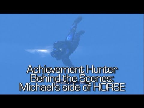 Behind the s  Another Look at HORSE 14 Jack vs Michael  Rooster Teeth