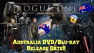 Rogue One Official Australia DVD/Blu-ray Release Date!!!