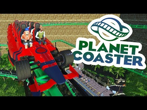 Planet Coaster Alpha 2 Gameplay - Jungle Junction! - Let's Play Planet Coaster