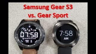 Samsung Gear Sport Vs Gear S3   Review And Comparison   Which One Should You Buy