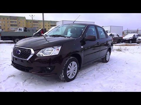 Фото к видео: 2014 Datsun on-DO. Trust. Обзор (интерьер, экстерьер, двигатель).