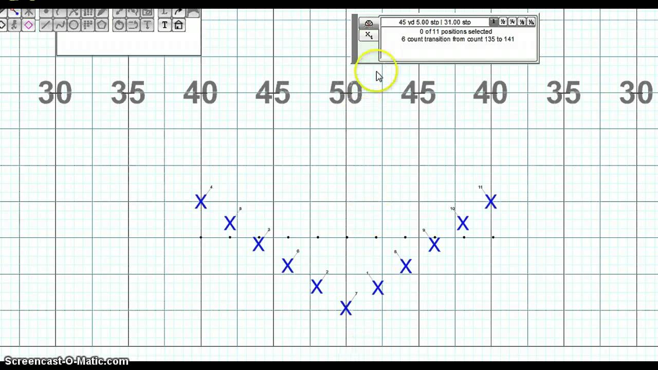 How to Read a Marching Band Drill Chart - YouTube