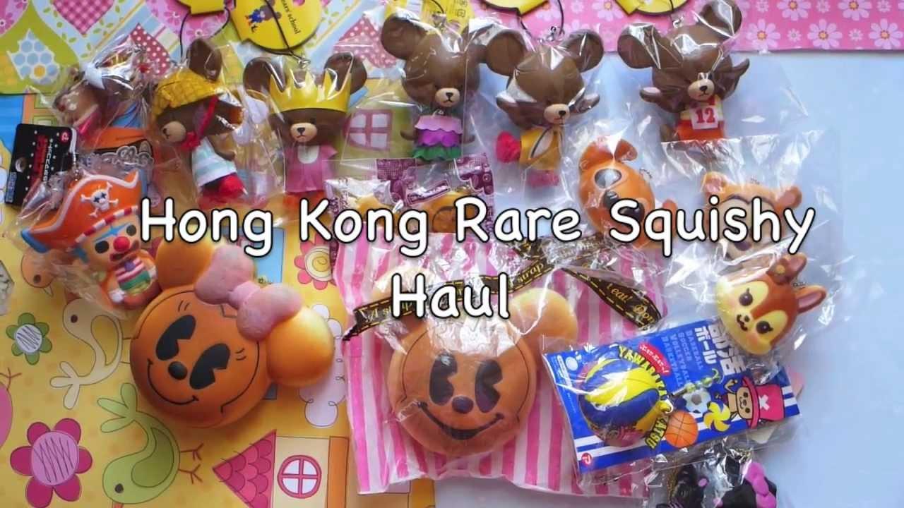 Hong Kong Rare Squishy Haul! - YouTube