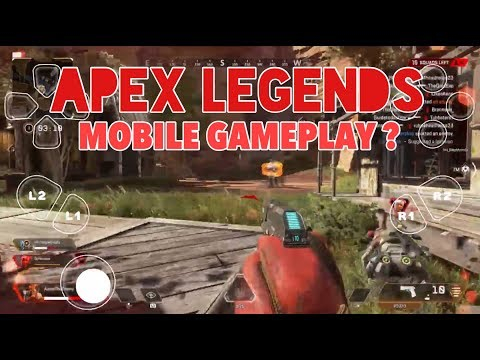 PLAYING APEX LEGENDS ON AN IPAD (Mobile Gameplay)