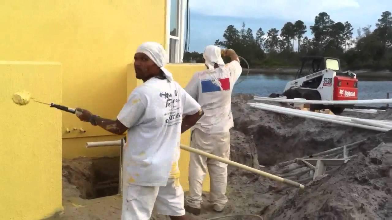 Pintando por fuera youtube for Colores para pintar una casa por fuera