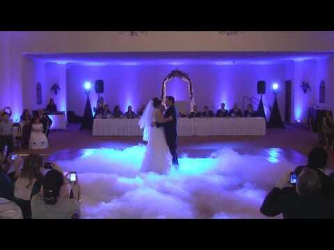 Wedding Low Fog ADJ Vizi Beams & DJ Mikey Mike John P. Eliopulos Hellenic Center Hellenic Center