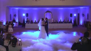 Wedding Low Fog ADJ Vizi Beams & DJ Mikey Mike John P. Eliopulos Hellenic Center Hellenic Center