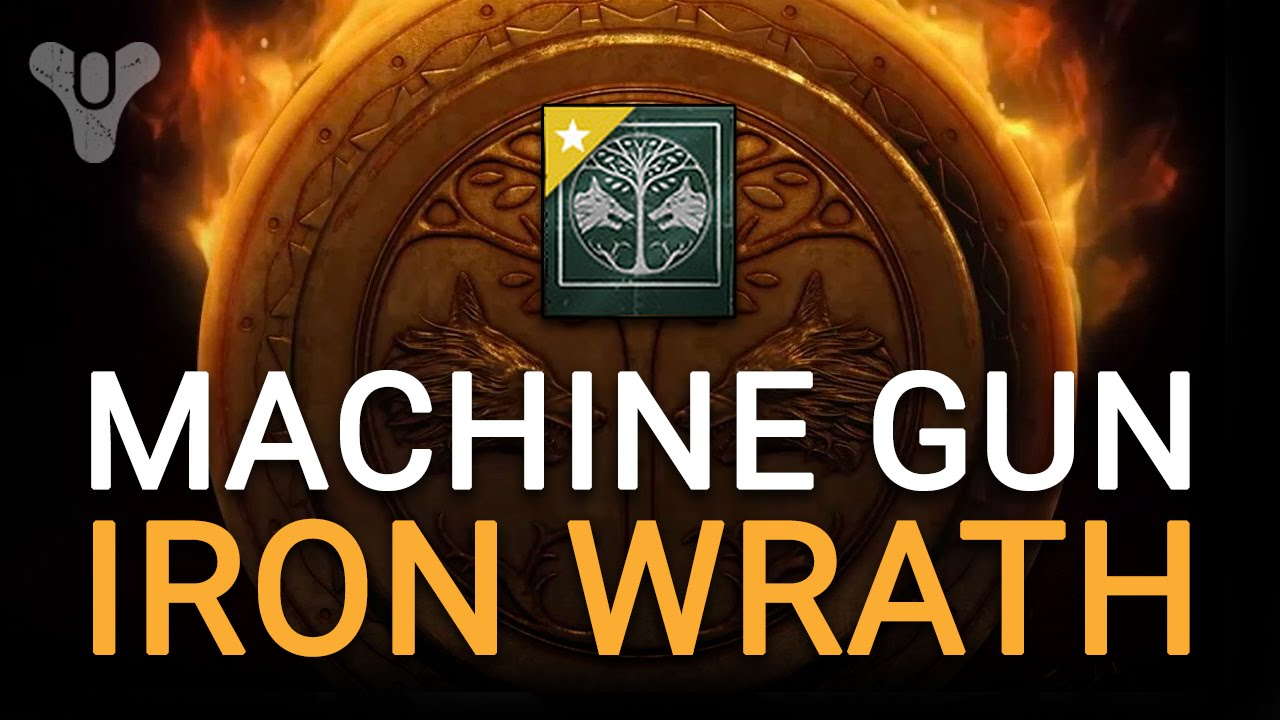 iron banner machine gun