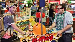 The Best Arcade Games In Japan!