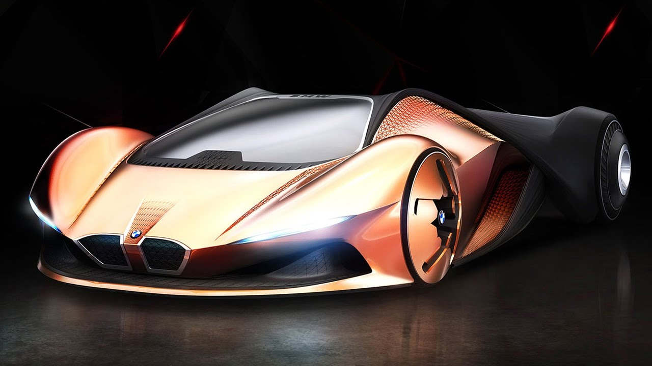 Bmw M1 Shark Vision Next 100 Future Car Concept Youtube