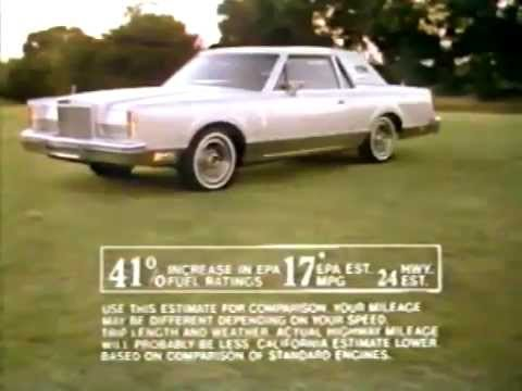 1980 Lincoln Continental Mark VI Commercial  YouTube