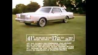 1980 Lincoln Continental Mark VI Commercial