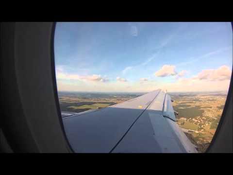 Landing At Maribor Airport (Adria Airways) (JP163)