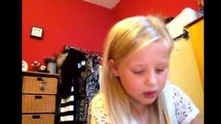 nevaeh me singing work by iggy azalea
