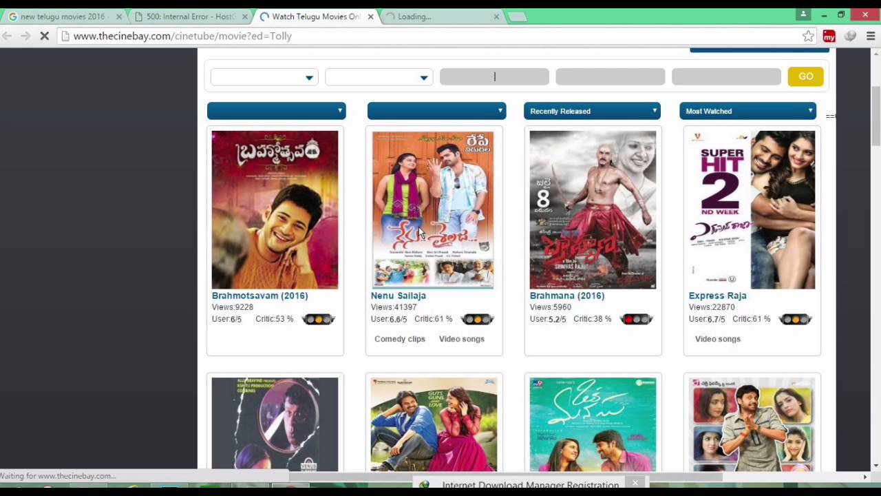 top 10 telugu movies websites