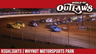 World of Outlaws Late Models | Whynot Motorsports Park 3/24/17