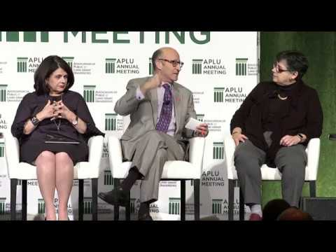 APLU 2017 Annual Meeting: Panel with Doug Lederman