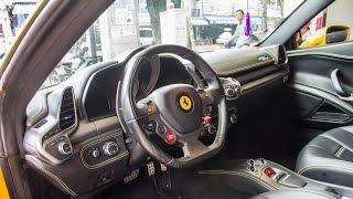 Khám phá Nội thất, Ngoại thất Ferrari 458 Italia | XSX