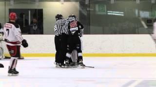 Hockey Fights / Jean-René Forget vs Nick Veilleux
