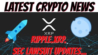 RIPPLE XRP LAWSUIT NEWS UPDATE | LATEST BREAKING CRYPTOCURRENCY NEWS