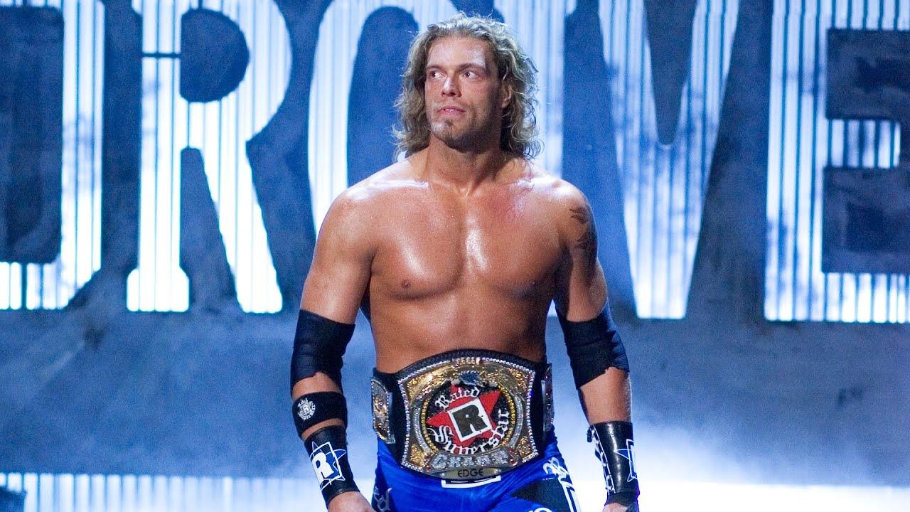 Edge's singles championship victories: WWE Milestones - YouTube