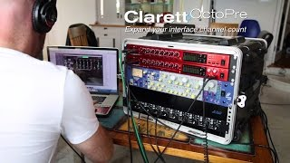 Focusrite // Recording Veridian with the Clarett OctoPre