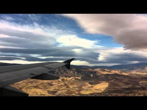 Harrowing Takeoff from Reno/Tahoe Airport