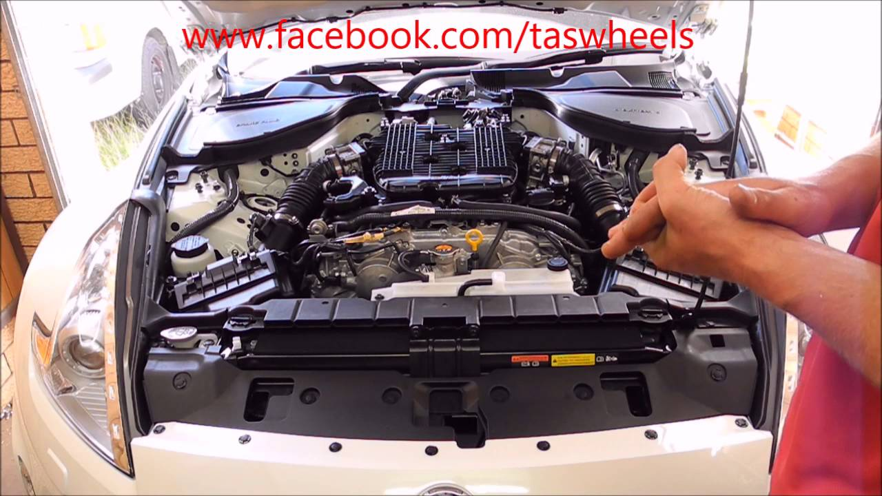 hight resolution of 370z cooling system upgrade part 1 front bumper removal and mishimoto oil cooler install