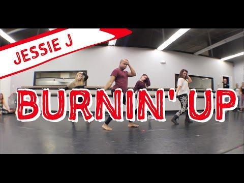Jessie J - Burnin Up Choreography | James Alsop (Feb 2015)