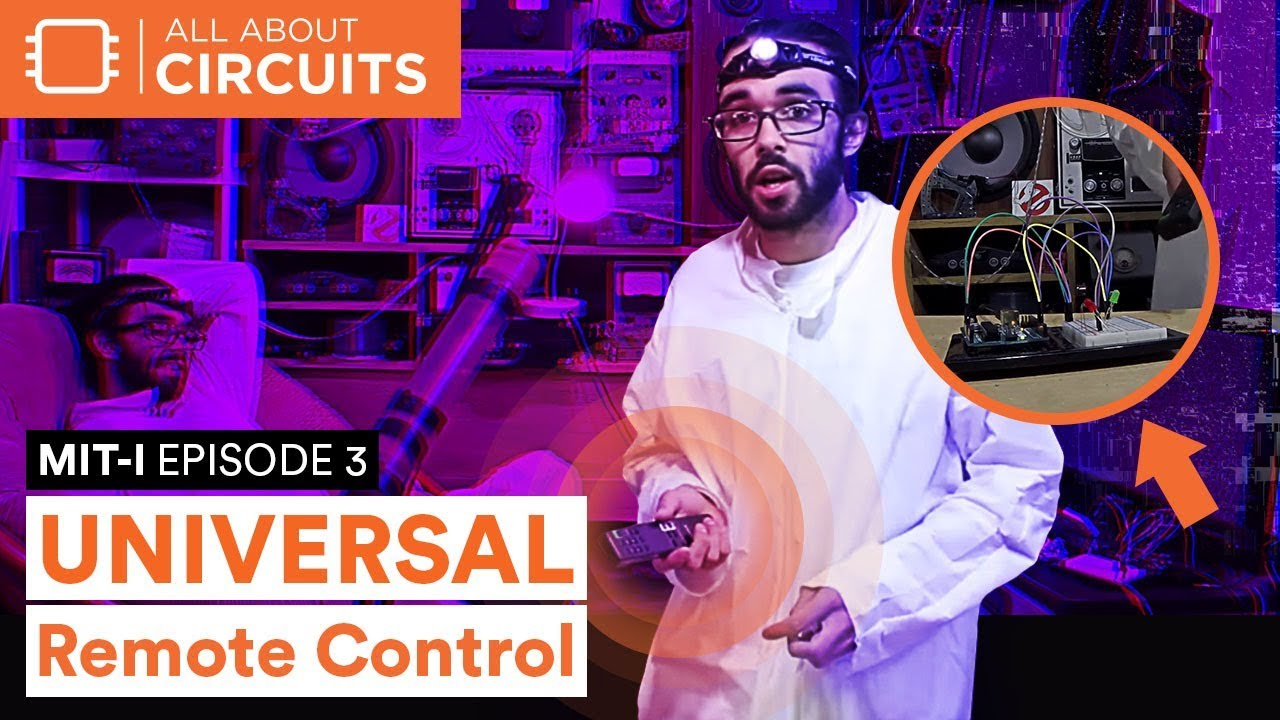 Arduino Infrared (IR) Control… The Universal Remote Control