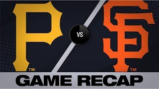 Vogt's 4 RBIs lead Giants past Pirates | Pirates-Giants Game Highlights 9/10/19