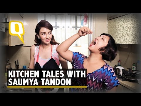 When 'Bhabhiji...' Actor Saumya Tandon Cooked Pasta for The Quint