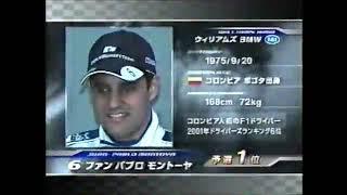 F1 2002年 第10戦 イギリスGP スターティンググリッド