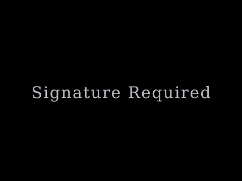 Signature Required - Signed Card Trick (Tutorial)