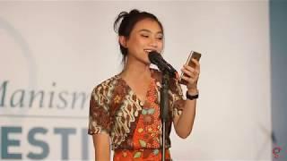 JKT48 Melody Nurramdhani at Handshake Event (MENYANYI SUNDA?)