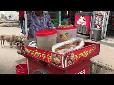 Roton Mama indian Panipuri / Street Food /Nams Vlog