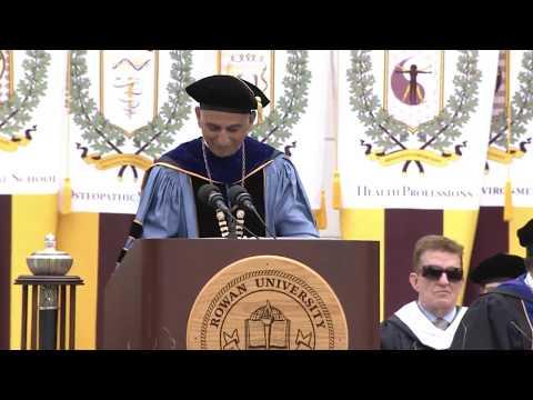 2017 Henry M. Rowan of Engineering ceremony