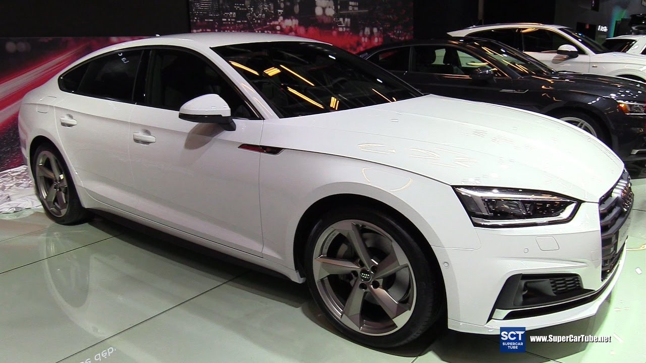 2018 audi a5 sportback exterior and interior walkaround 2017 montreal auto show youtube. Black Bedroom Furniture Sets. Home Design Ideas