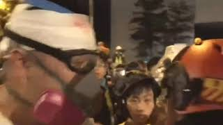 "Violence proves""peaceful""protest a tactic 
