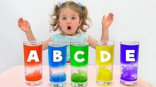 Растаяли Буквы и Цвета  /  ABC song